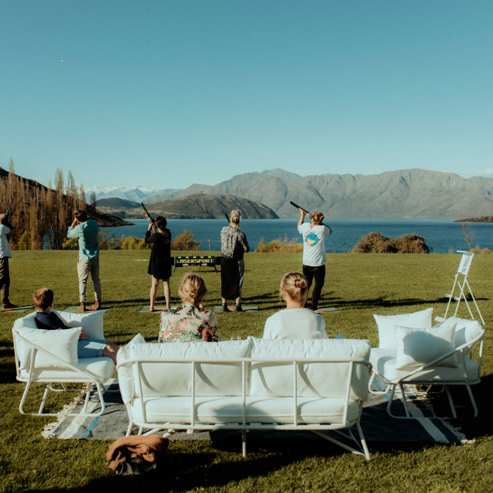 major and minor hire wanaka wedding hire outdoor seating