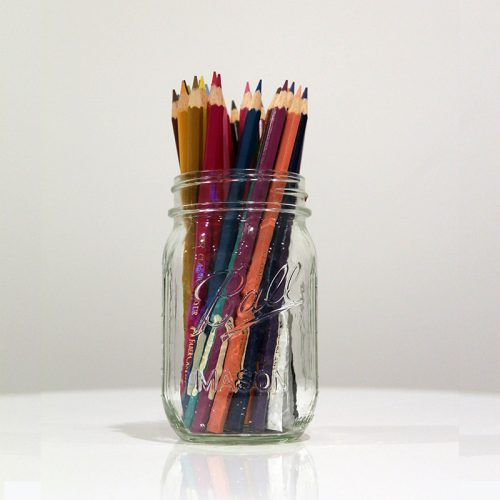 Colouring Pencils - Wedding Hire Wanaka - Major & Minor
