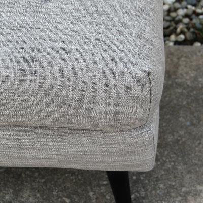 Grey Ottoman - Major & Minor - Wanaka Wedding Hire