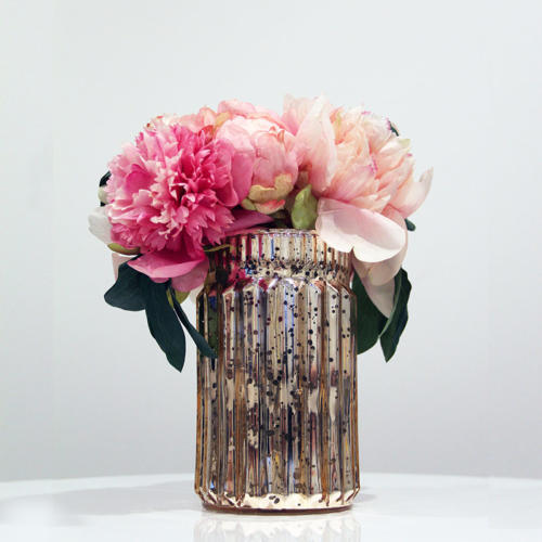 Blush Votive Medium - Wedding Hire Wanaka - Major & Minor