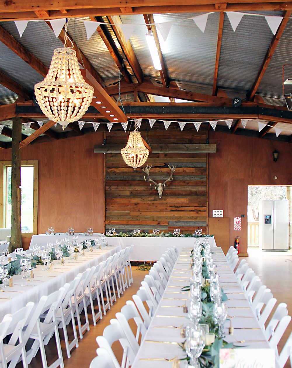 Home Ideas Table And Chandeliers Wanaka Wedding Hire