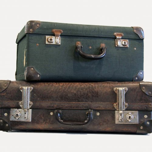 Vintage Suitcases - Wedding Hire Wanaka - Major & Minor