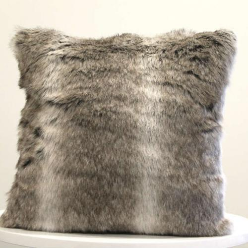 Arctic Fur Cushion - Major and Minor - Wedding and Decor Hire