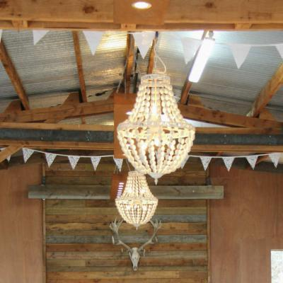Beaded Chandelier - Major and Minor - Wedding and Party Hire Wanaka