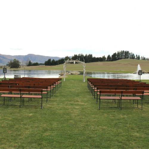 Bench Seats Dressed - Major and Minor - Wedding and Party Hire Wanaka