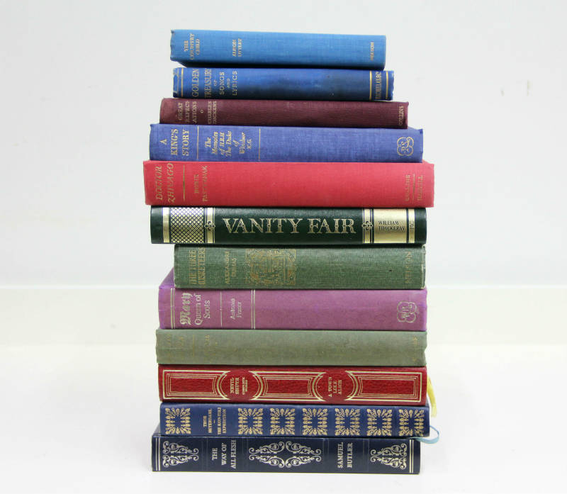 Antique Books - Wedding and Event Hire Wanaka - Major and Minor