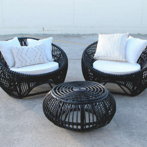 Cabo Lounge Set - furniture - Major and Minor - Wedding and Party Hire Wanaka