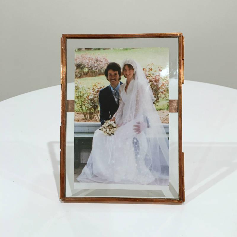 Pressed Copper Frames - Large | Major & Minor - Wanaka Wedding Hire