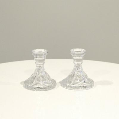 Crystal Candlesticks 3 - Major and Minor - Wedding and Party Hire