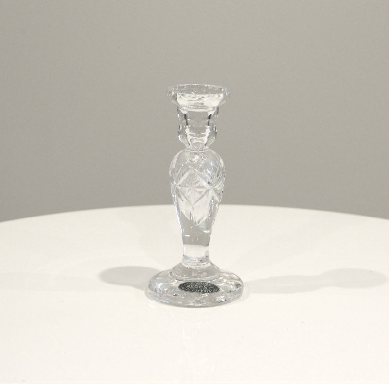 Crystal Candlesticks 6 - Major and Minor - Wedding and Party Hire