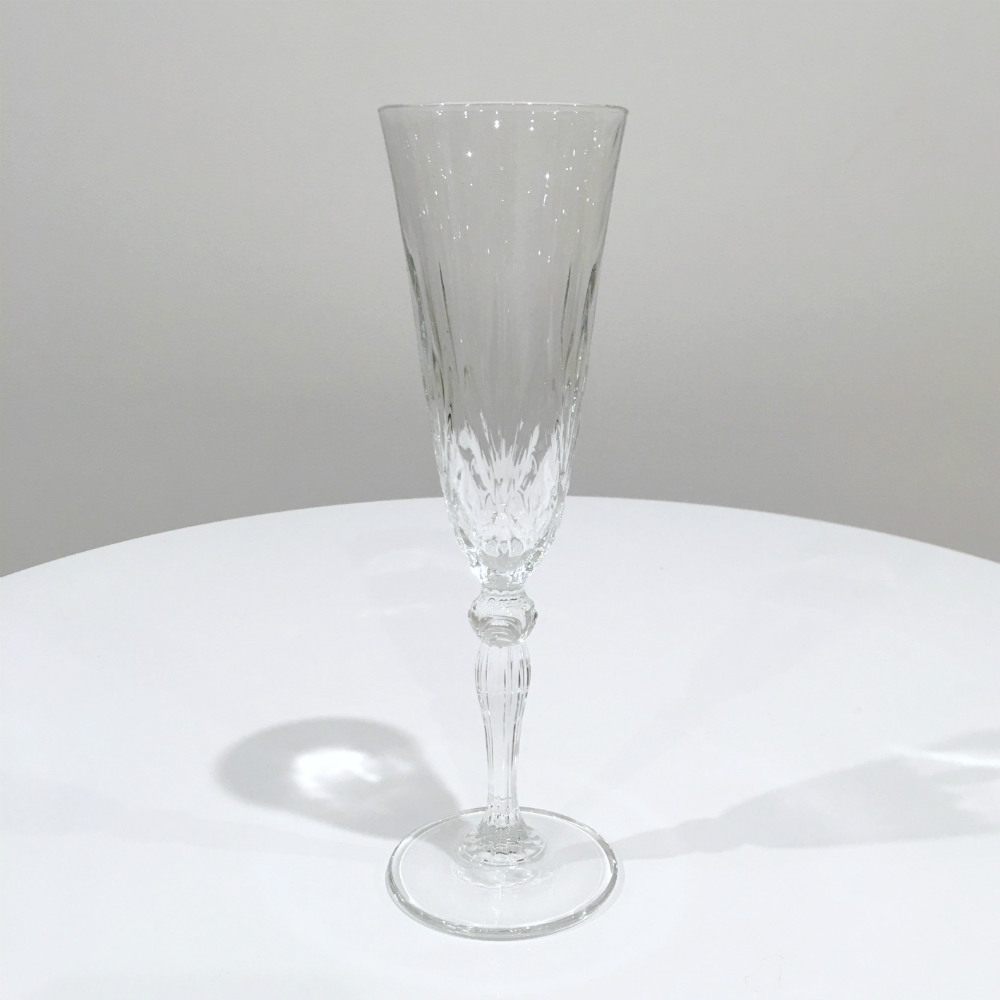 Crystal Champagne Flute - Wanaka Wedding Hire - Party Hire - Major and Minor