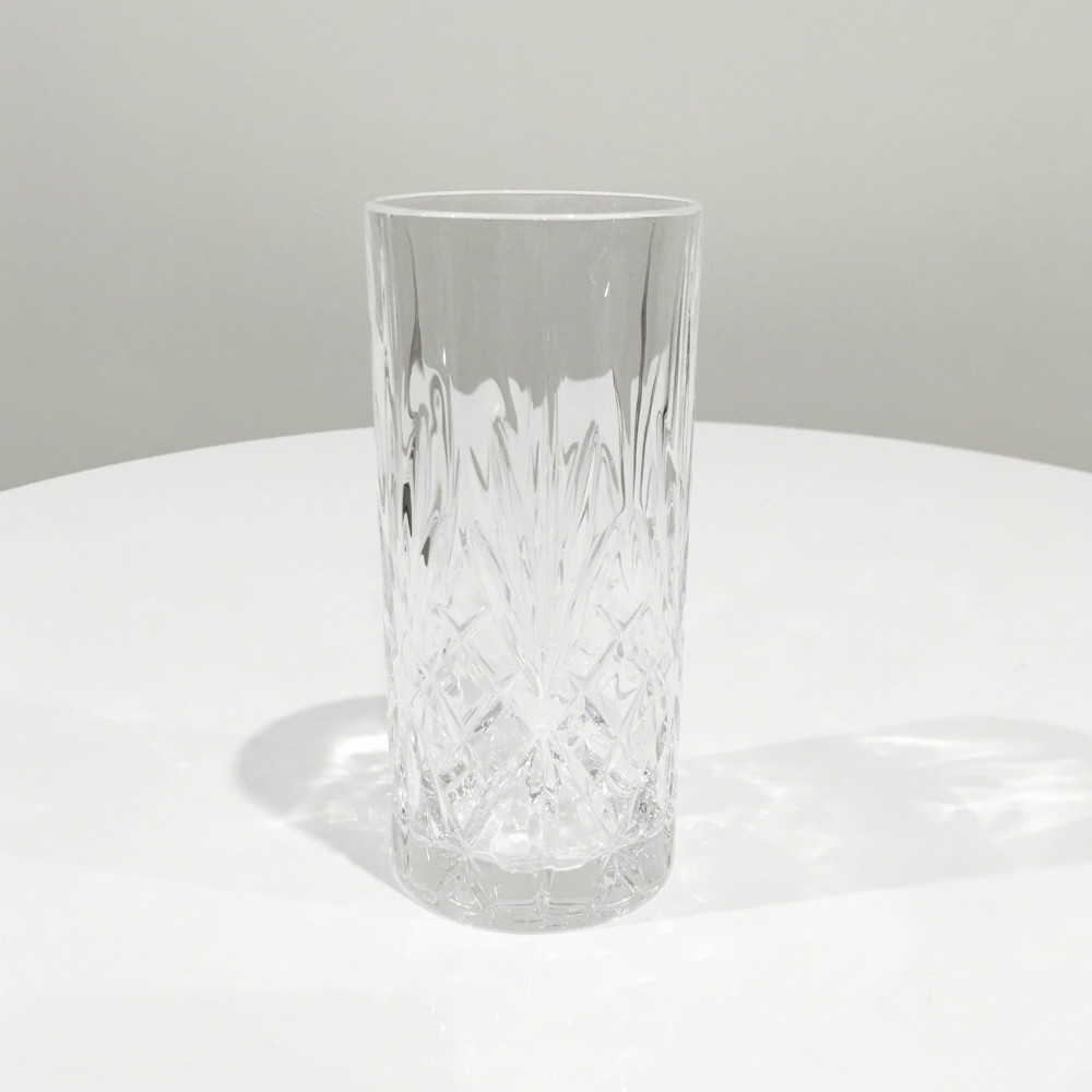 Crystal Glass - highball - wedding glassware - wanaka wedding hire - wanaka wedding major and minor - wanaka events and party hire