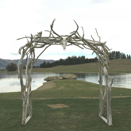 Driftwood Arch 2 - Major and Minor - Wedding and Party Hire Wanaka