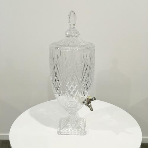 Drink Dispenser - Cut Glass - Wedding Hire - Wedding Hire Wanaka - Major and Minor Hire