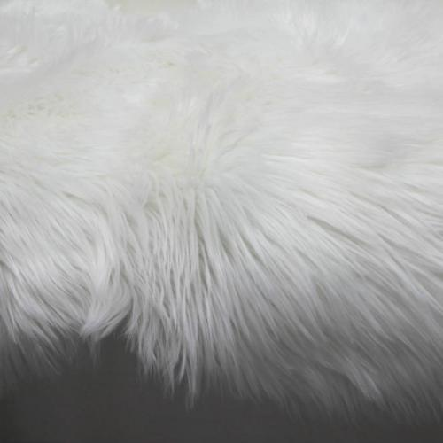 Sheepskin Rug - Closeup - Major and Minor - Wedding and Party Hire