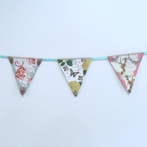 Floral Bunting - Major and Minor Hire - Wanaka Weddings and Events - Wedding and Party Planning