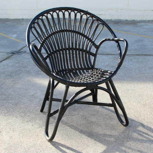 Francis Cane Chair - Black - Major and Minor - Wedding and Party Hire Wanaka