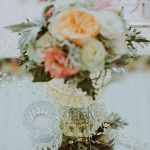 Garland - Mirror Table - Major and Minor Hire Wanaka -Wanaka Wedding Planner