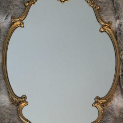 Gold Ornate Mirror - Major and Minor - Wedding and Party Hire Wanaka