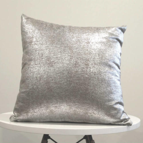 Silver Beige Cushion - Major and Minor - Wedding and Party Hire Wanaka