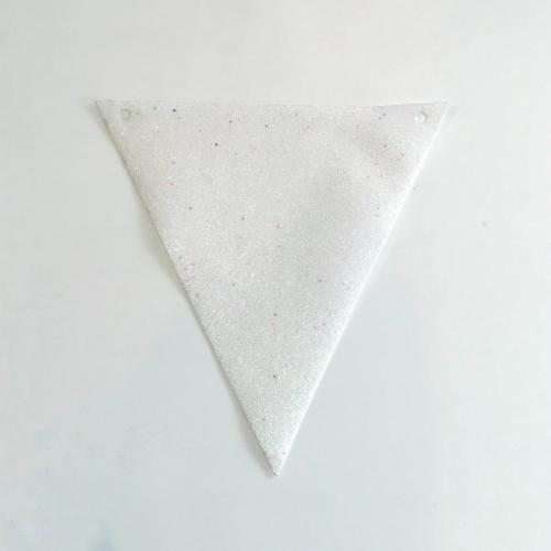 White Glitter Bunting - Major and Minor - Wanaka Weddings and Events - Party and Wedding Planning
