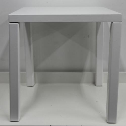 White side table - Major and Minor - Wedding and Party Hire Wanaka