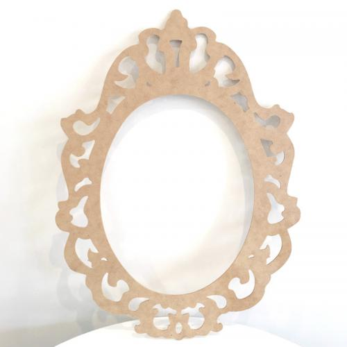 Wooden Frame Oval - Major and Minor Wanaka and Queenstown - Wedding Event and Party Planning and Hire