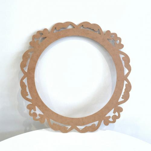 Wooden Frame Round - Major and Minor Wanaka and Queenstown - Wedding, Event and Party Planning and Hire