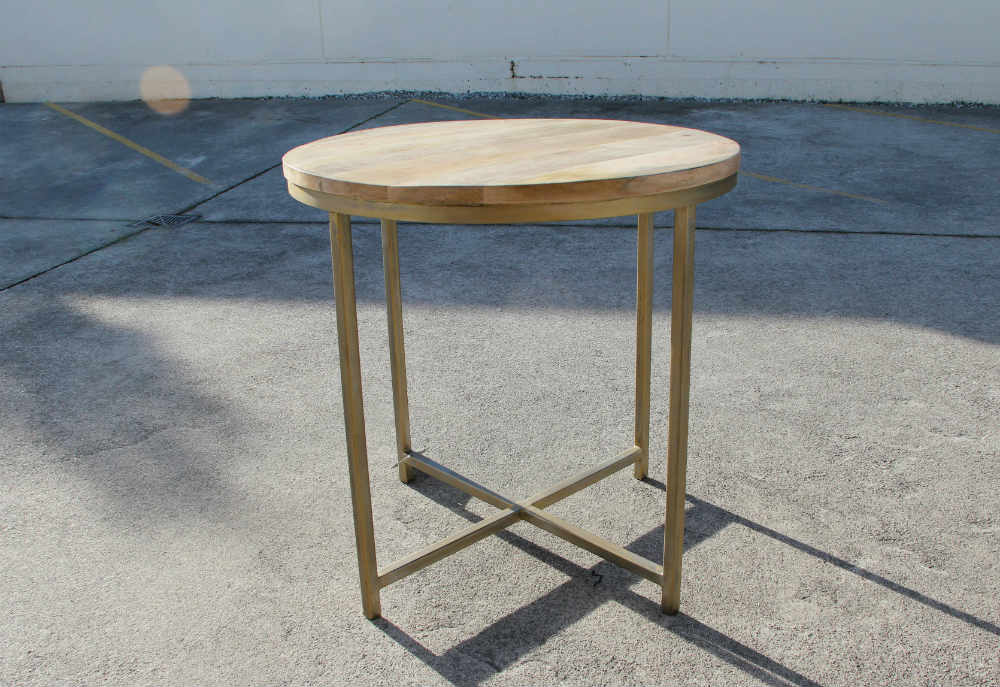 Wooden Top Table - Major and Minor - Wedding and Party Hire Wanaka
