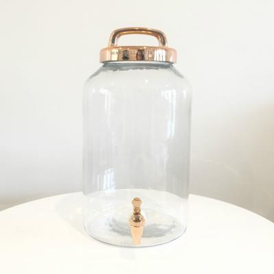 Drinks Dispenser Copper Top - Wanaka Wedding Hire - Major and Minor - Wanaka Queenstown Events
