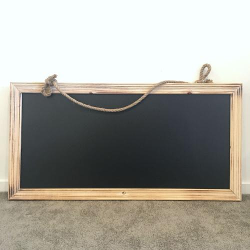 Wooden Chalkboard - Large - Wanaka Wedding Hire - Major and Minor - Wanaka and Queenstown