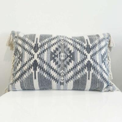 Blue Rectangle Cushion - Wanaka Wedding Hire - Event Hire - Wedding Planni