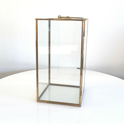 Glass Brass Lantern - Wanaka Wedding Hire - Event Hire - Wedding Planning