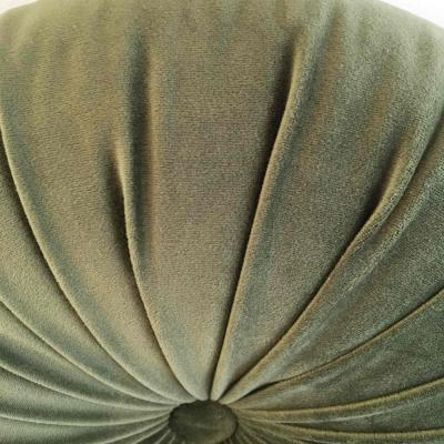 Round cushion - Olive- Closeup - Wanaka Wedding Hire - Event Hire - Wedding Planning