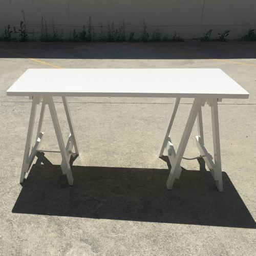 White Trestle Table - Wanaka Wedding Hire - Wedding Hire Wanaka - Event Hire
