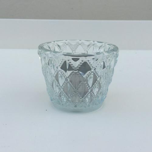 Cut Glass Tealight - Diamond - Major and Minor - Wedding Hire - Wanaka Hire - Events and Weddings