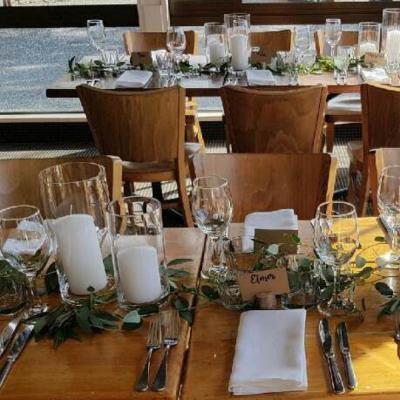 Glass Cylinder - Prof Large Medium - Wanaka Wedding Hire - Queenstown Weddings and Events