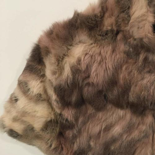 Brown Fur Shawl Close up _ Wanaka Weddings and Events _ Major and Minor Hire