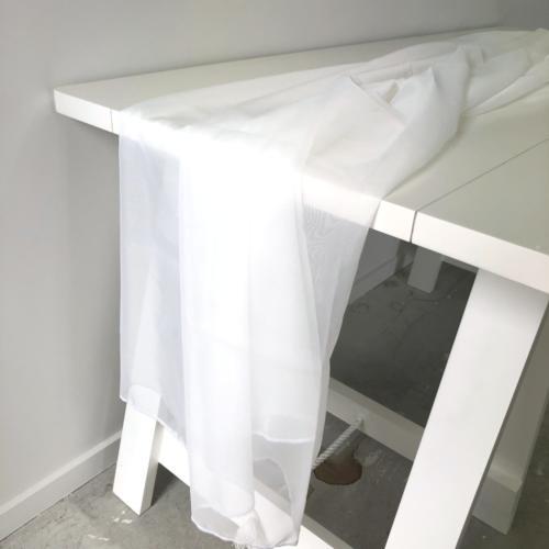 Draping Material White _ Wanaka Weddings and Events _ Major and Minor Hire