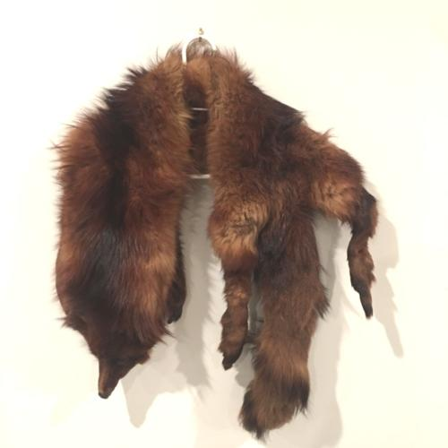 Fox Fur Shawl _ Wanaka Weddings and Events _ Major and Minor Hire