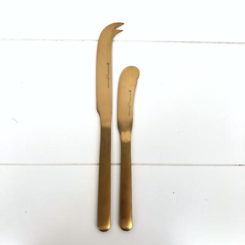 Gold Cheese Knife Set _ Wanaka Weddings and Events _ Major and Minor Hire