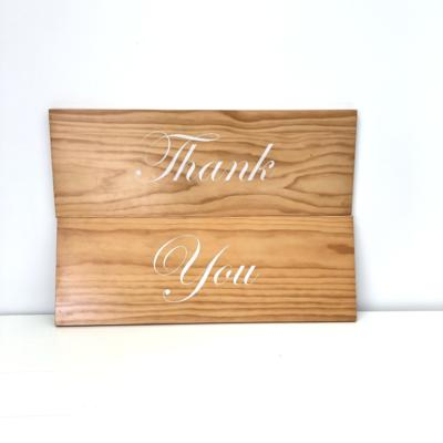 Thank You Sign | Wanaka Weddings and Events | Major and Minor Hire