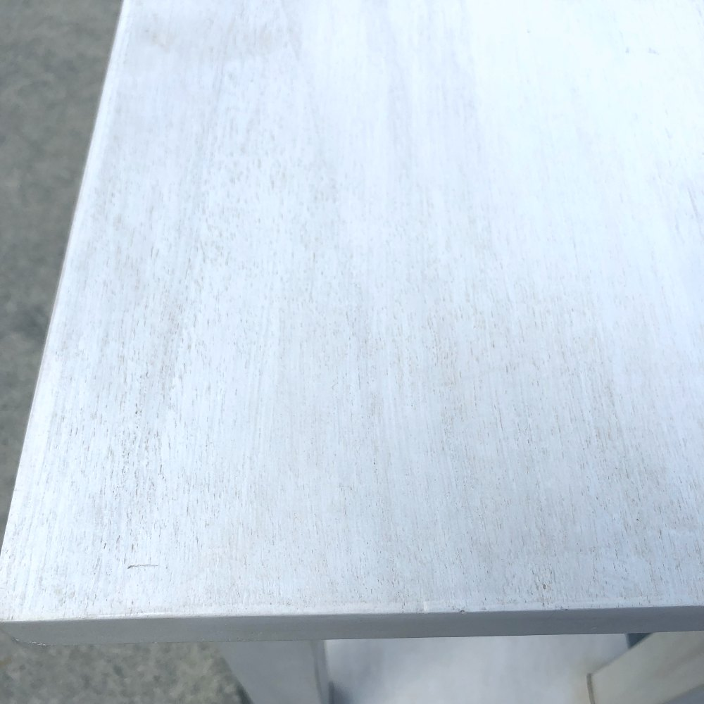 White Wash Console | Close Up | Wanaka Weddings and Events | Major and Minor Hire