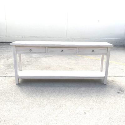 White Wash Console | Wanaka Weddings and Events | Major and Minor Hire