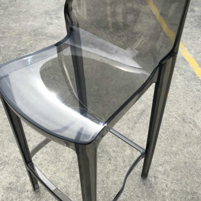 Acrylic Barstool - Smokey Closeup - Major and Minor - Wedding and Event Hire - Wanaka Hire