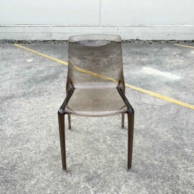 Acrylic Chair - Coffee - Major and Minor - Wedding and Event Hire - Wanaka Hire - Queenstown Hire