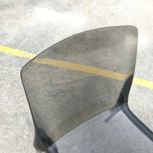Acrylic Chair - Smokey Close up - Major and Minor - Wedding and Event Hire - Wanaka Hire - Queenstown Hire