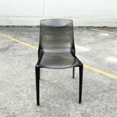 Acrylic Chair - Smokey - Major and Minor - Wedding and Event Hire - Wanaka Hire - Queenstown Hire