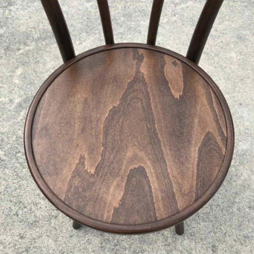 Bentwood Chair - Walnut Closeup - Major and Minor - Wedding and Event Hire - Wanaka Hire -