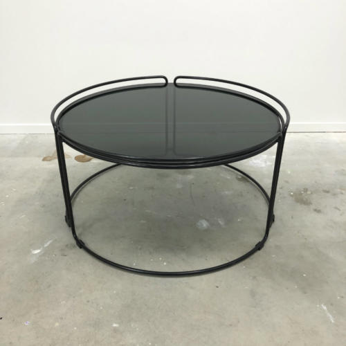 Catherine Coffee Table - Black - Wanaka Wedding Hire - Wanaka Wedding and Events - Queenstown
